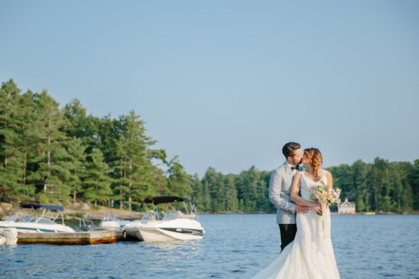 Windermere House  Wedding in Muskoka  Cassandra and Andrew