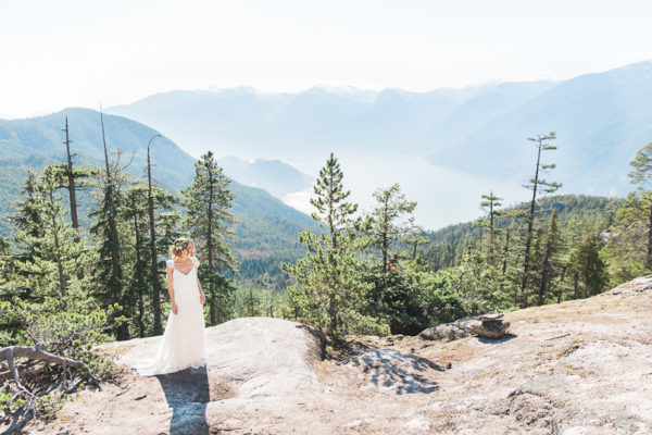 Mountain Top Elopement Inspiration | Squamish, BC
