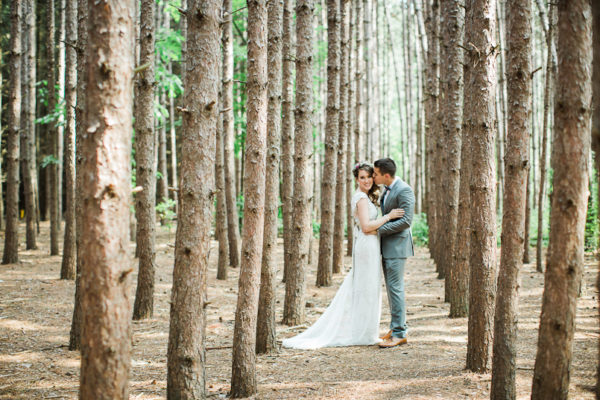 Kortright Centre Forest Wedding in Toronto | Kailey and Mike