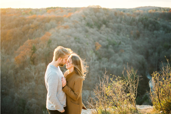 Webster Falls and Dundas Peak Engagement Session, Hamilton ON