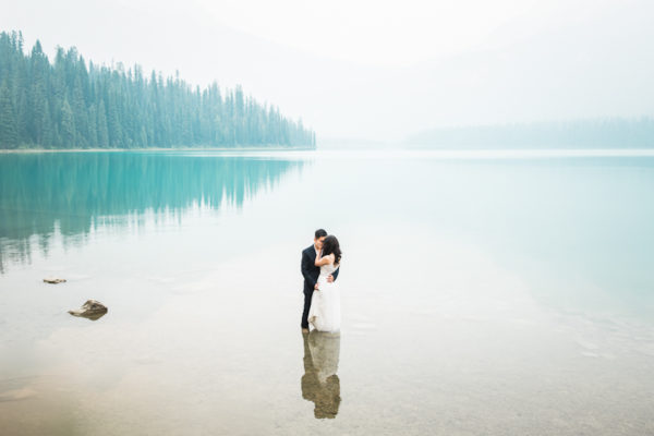 Canadian Rockies Banff Engagement Session | Danny and Maryknoll