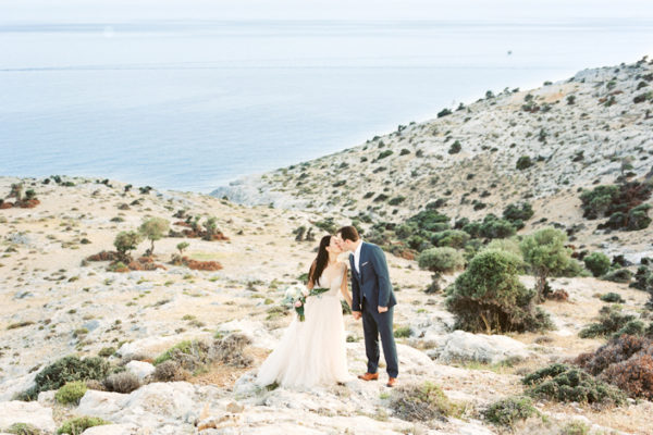 Day After Wedding Shoot on the Coast of Greece | Sharon and Achilleas